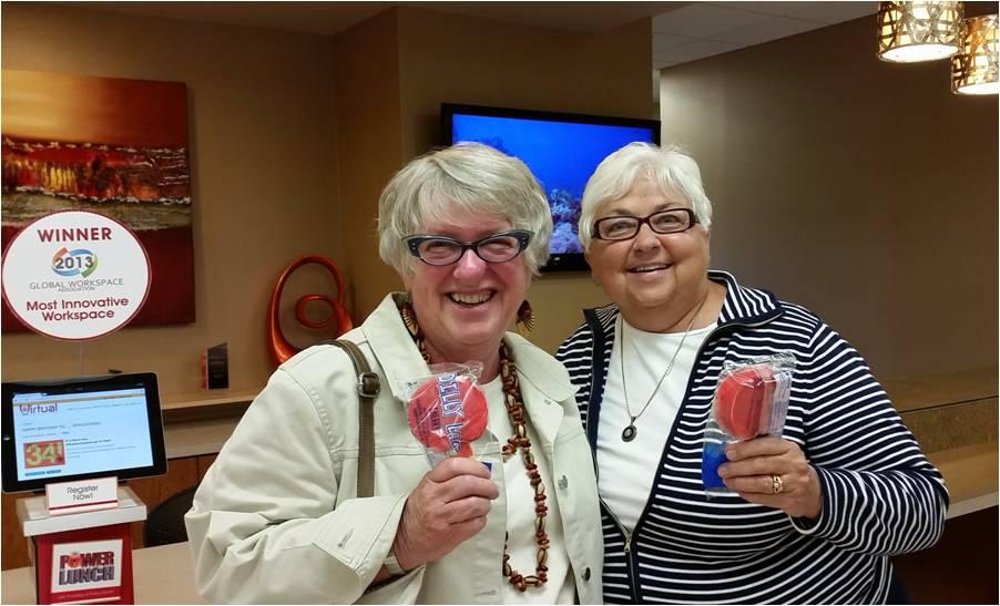 Marg Penn & Nancy Burke